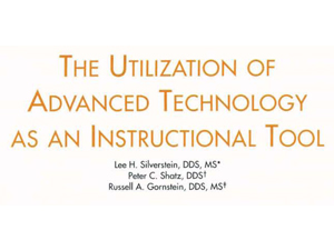 Utilization of Advanced Technology as an Instructional Tool