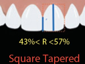Significance of Crown Shape in the Replacement of a Central Incisor with a Single Implant-Supported Crown