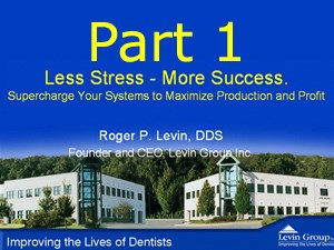 Less Stress, More Success Pt 1