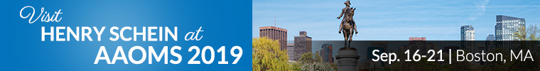 Visit Henry Schein at AAOMS 2019 - September 16-21, Boston, MA